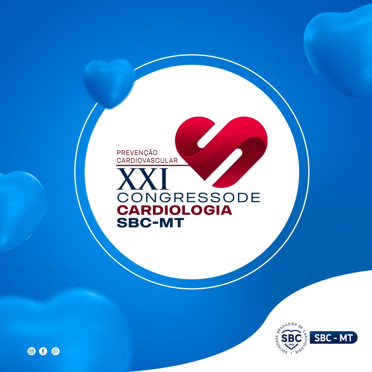 XXI Congresso de Cardiologia de Mato Grosso