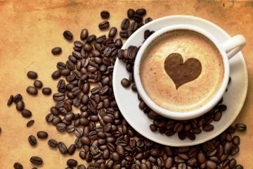 O café e o coração