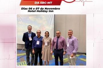 A SBC-MT realizou o VII curso de eletrocardiografia nos dias 06-07/11/2020, no hotel Holliday Inn, e